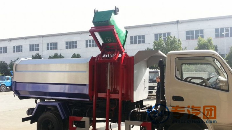 亚博体育官网锐铃挂桶式垃圾车