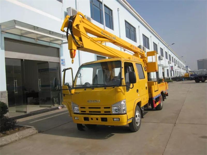 最新庆铃16米高空作业车