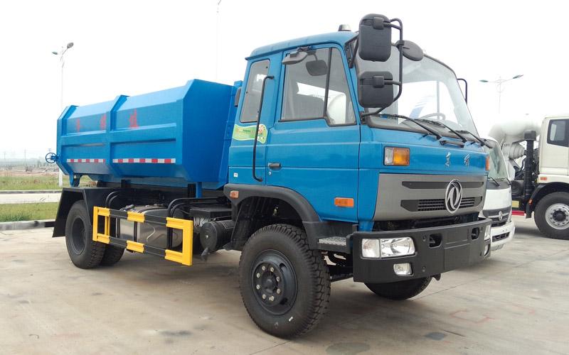 亚博体育官网153型12方勾臂式垃圾车图片