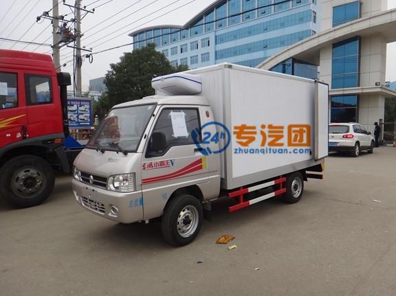 东风小霸王3米冷藏车图片