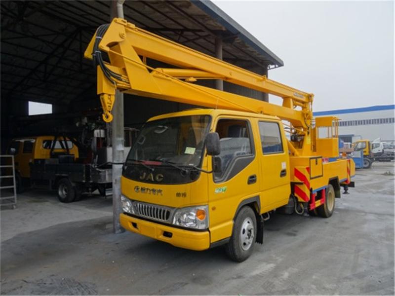 最新江淮16米高空作业车