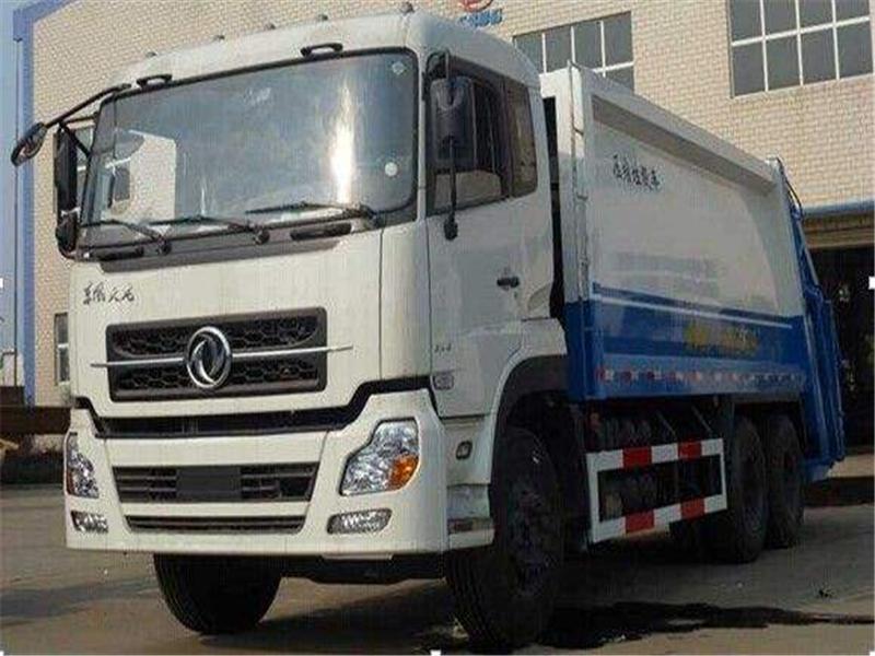 东风天龙16方压缩式垃圾车图片