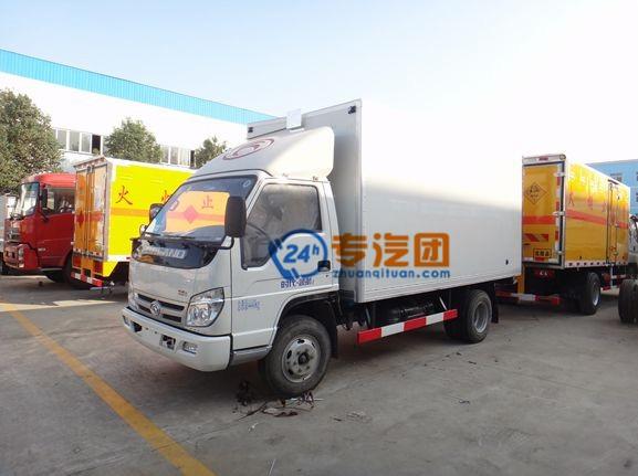 福田时代4.2米冷藏车图片
