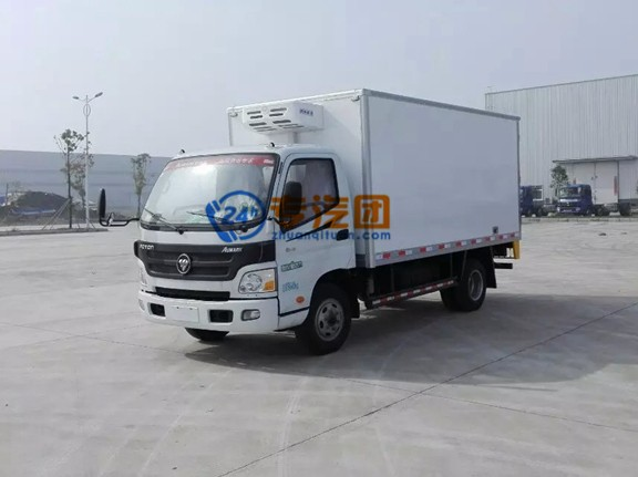 福田欧马可4.1米冷藏车图片