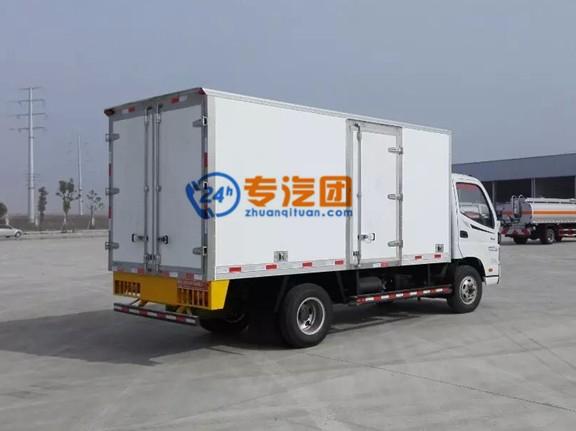 福田欧马可4.1米冷藏车
