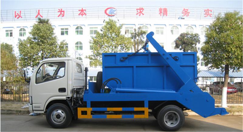 东风多利卡6方摆臂式垃圾车图片