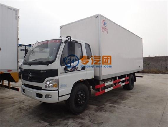 福田欧马可6米冷藏车图片