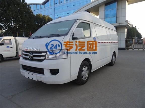 福田G7国五面包冷藏车图片