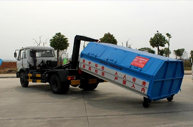 东风10方拉臂式垃圾车
