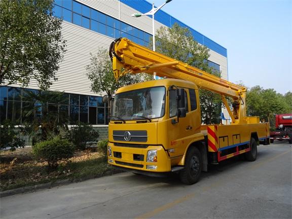 东风天锦20米折臂式高空作业车图片