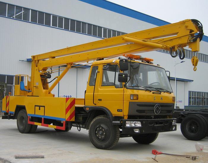 东风145型20米折臂式高空作业车图片