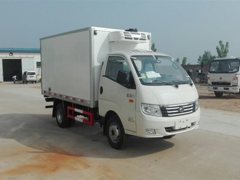 福田康瑞3米小型冷藏车