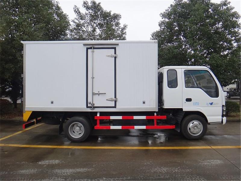 五十铃600P小型冷藏车