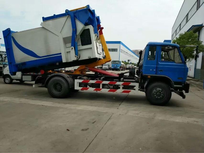 东风153型12方拉臂式垃圾车图片