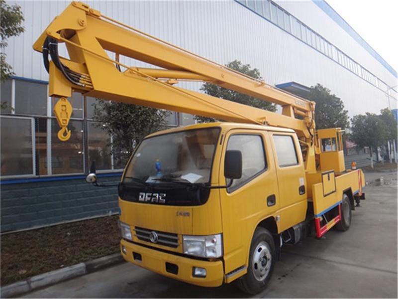 最新东风14米高空作业车