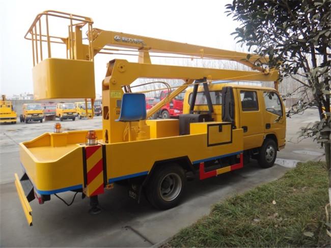 东风14米折臂式高空作业车