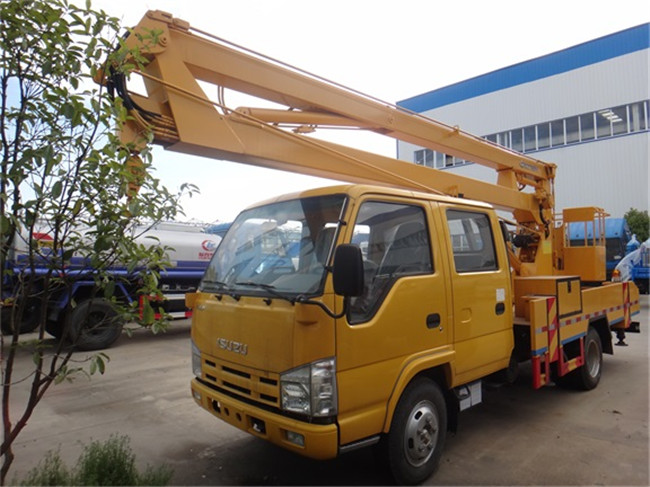 五十铃14米折臂式高空作业车
