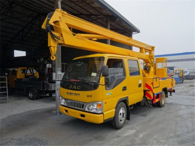 江淮16米折臂式高空作业车