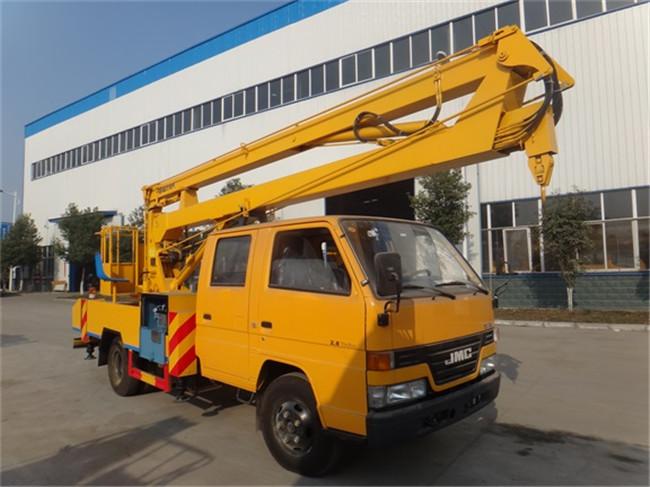 江铃16米曲臂式高空作业车