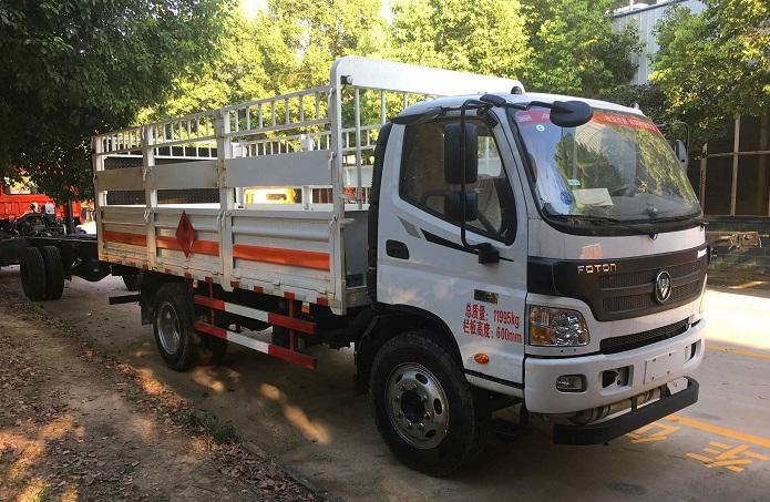 福田欧马可易燃气体运输车图片