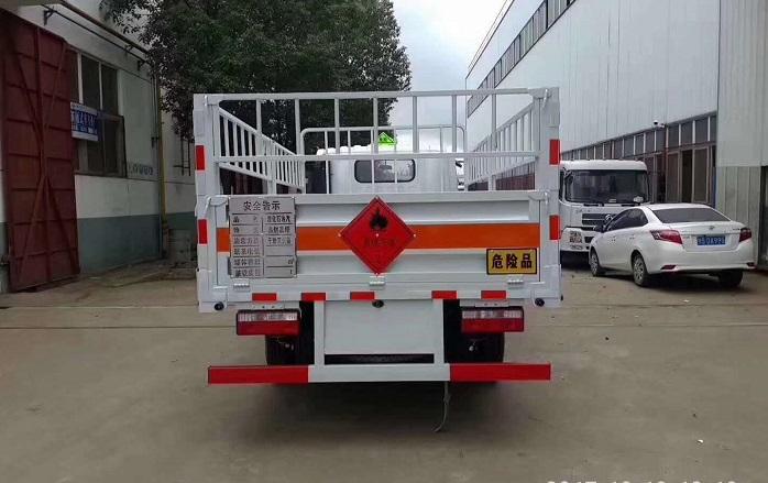 5.2米解放虎VN高栏气瓶运输车后平台