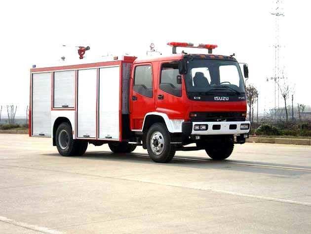 庆铃五十铃5吨泡沫消防车