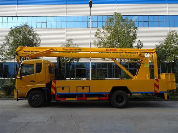 东风天锦18米折臂式高空作业车