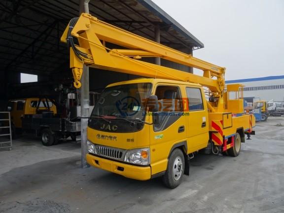 江淮双排14米高空作业车