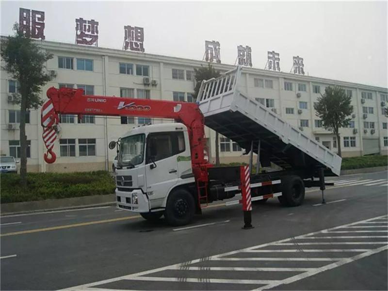 东风特商6.3吨随车吊