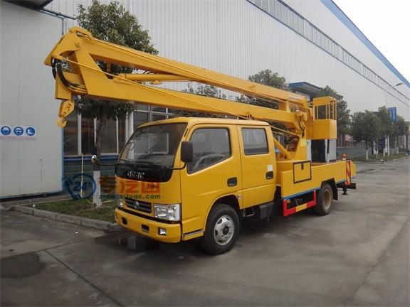 东风福瑞卡双排12米高空作业车