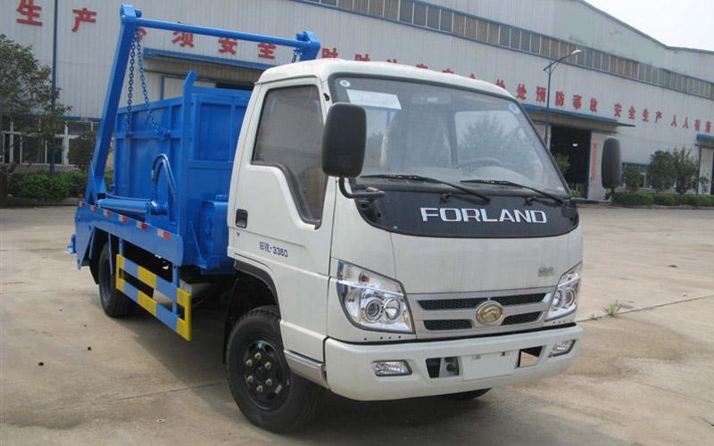 福田康瑞8方摆臂式垃圾车图片