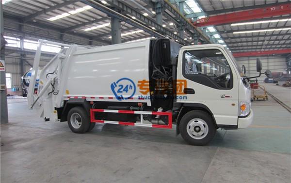 江淮4方压缩式垃圾车