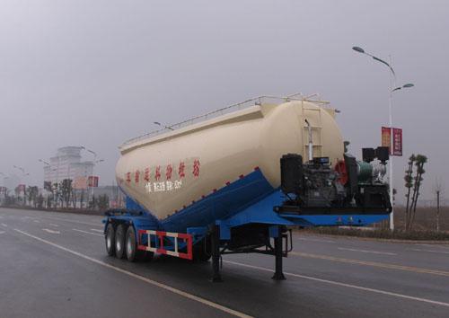 低密度粉粒物料运输半挂车(ALA9401GFL型低密度粉粒物料运输半挂车)