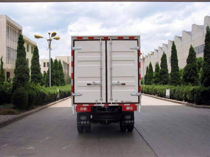 一汽红塔云南汽车ljc2810x-ii厢式低速货车