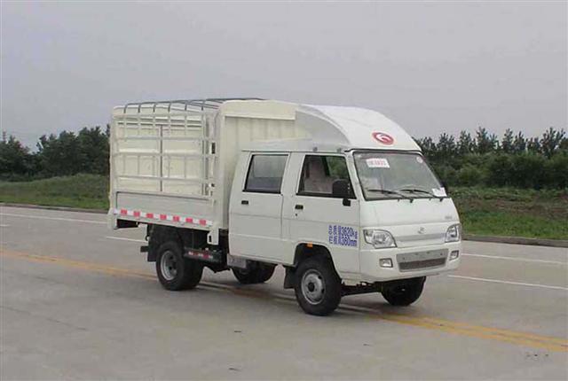 福田仓栅式运输车图片