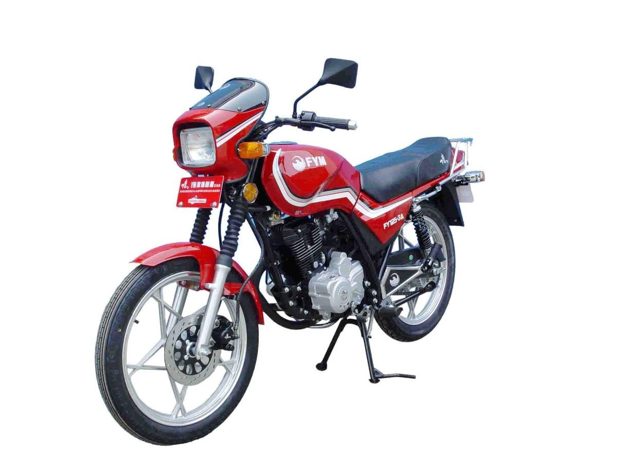 飞鹰牌fy125-3a型两轮摩托车图片