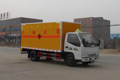 CLW5040XQYJ4爆破器材运输车