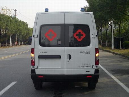 上汽大通v80救护车