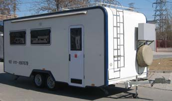 旅居挂车(QX9030TLJ型旅居挂车)