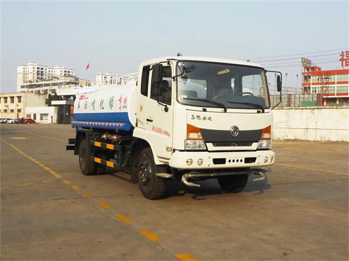 东风嘉运10吨绿化喷洒车