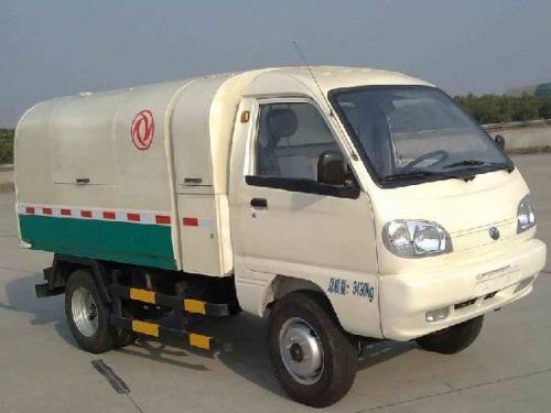 纯电动自卸式垃圾车图片