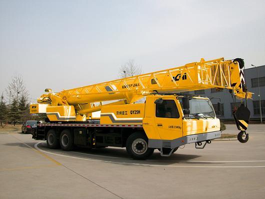 北京京城重工机械BCW5320JQZ25H型汽车起重机