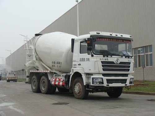混凝土搅拌运输车(ALA5250GJBSX4LNG型混凝土搅拌运输车)