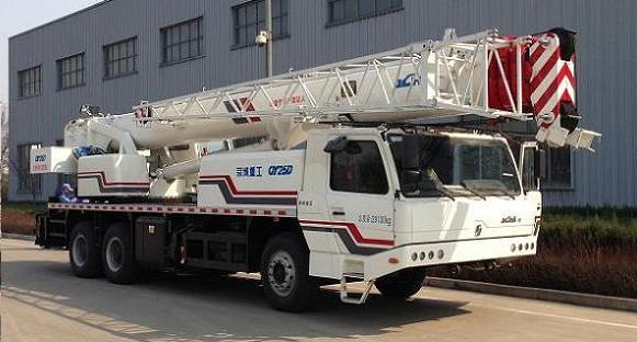 北京京城重工机械BCW5290JQZ25D型汽车起重机