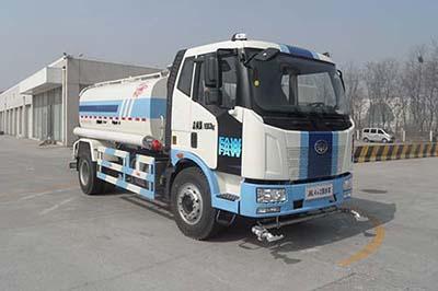 北京市清洁机械厂BQJ5163GSS型解放J6L洒水车