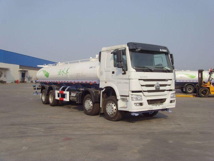 中集牌19吨洒水车(ZJV5310GSSQDZ)节省客户成本,满足客户环境需求!