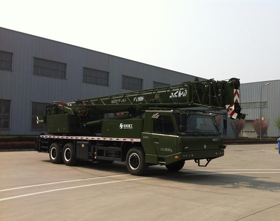北京京城重工机械BCW5260JQZ16H型汽车起重机