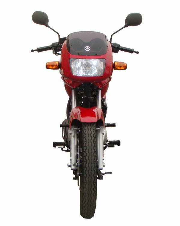 建设-雅马哈jym125-3e型两轮摩托车多方位图
