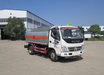 福田奧鈴4.79方汽油(實際5方)汽油加油車