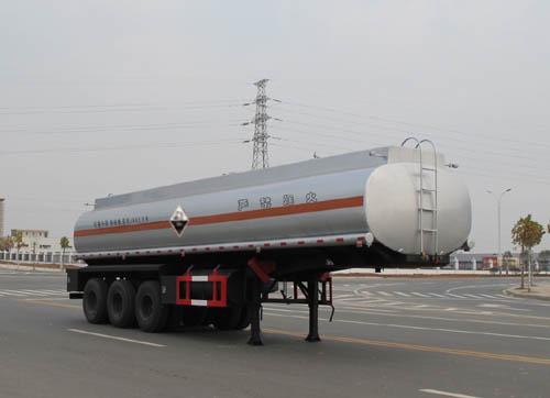 腐蚀性物品罐式运输半挂车(ALA9403GFW型腐蚀性物品罐式运输半挂车)